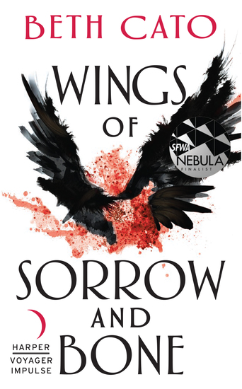 Wings of Sorrow and Bone - A Clockwork Dagger Novella - cover