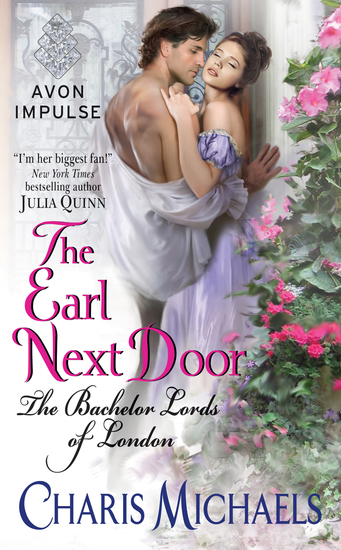 The Earl Next Door - The Bachelor Lords of London - cover