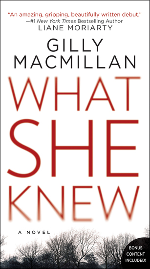 What She Knew - A Novel - cover