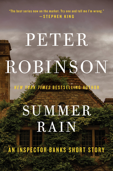 Summer Rain - An Inspector Banks Short Story - cover