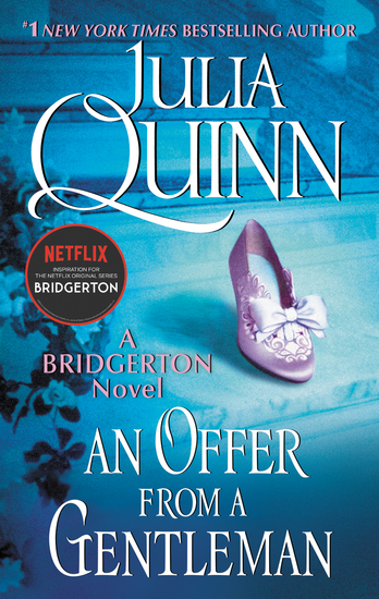 An Offer From a Gentleman - Bridgerton - cover