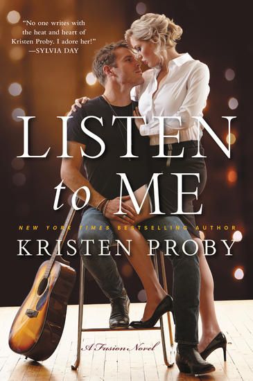 Listen To Me - A Fusion Novel - cover