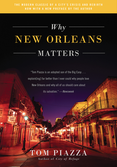 Why New Orleans Matters - cover