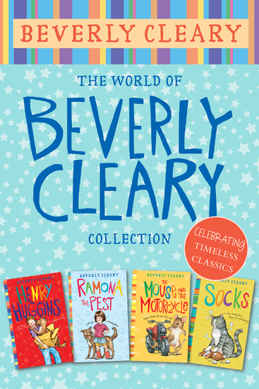 The World of Beverly Cleary Collection - Henry Huggins Ramona the Pest The Mouse and the Motorcycle Socks - cover