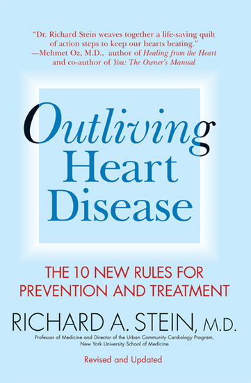 Outliving Heart Disease - The 10 New Rules for Prevention and Treatment - cover