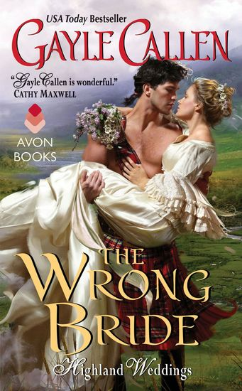 The Wrong Bride - Highland Weddings - cover