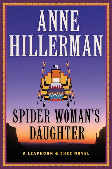 Spider Woman's Daughter - A Leaphorn Chee & Manuelito Novel - cover
