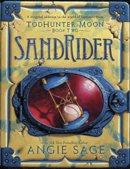 TodHunter Moon Book Two: SandRider - cover