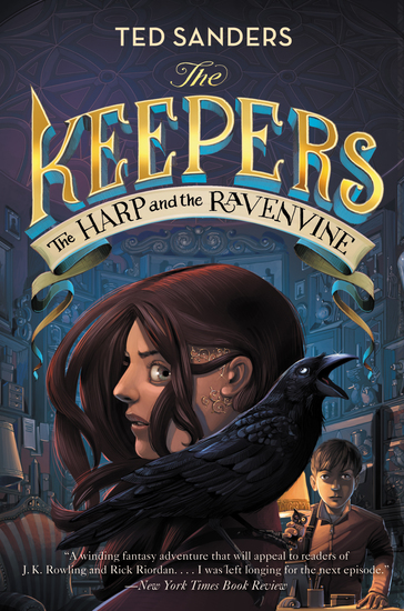 The Keepers #2: The Harp and the Ravenvine - cover