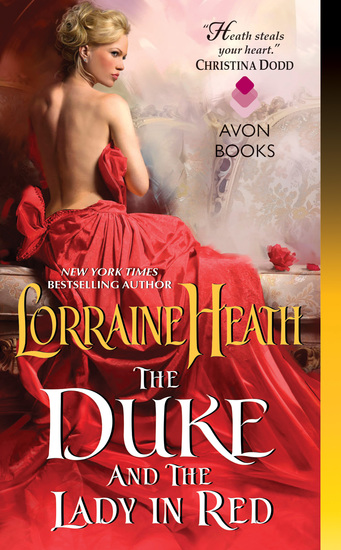 The Duke and the Lady in Red - cover
