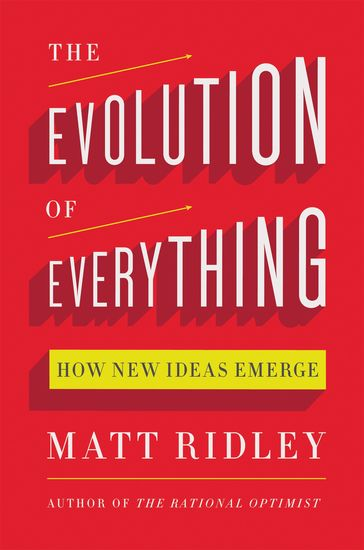 The Evolution of Everything - How New Ideas Emerge - cover