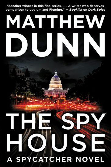 The Spy House - A Will Cochrane Novel - cover
