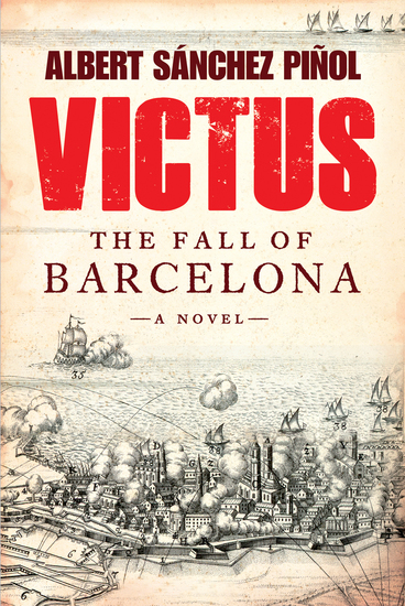 Victus - The Fall of Barcelona a Novel - cover