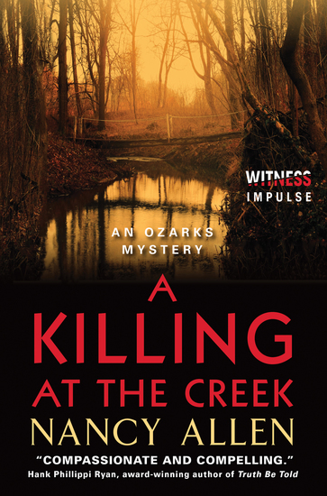 A Killing at the Creek - An Ozarks Mystery - cover