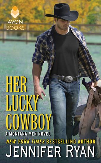 Her Lucky Cowboy - A Montana Men Novel - cover