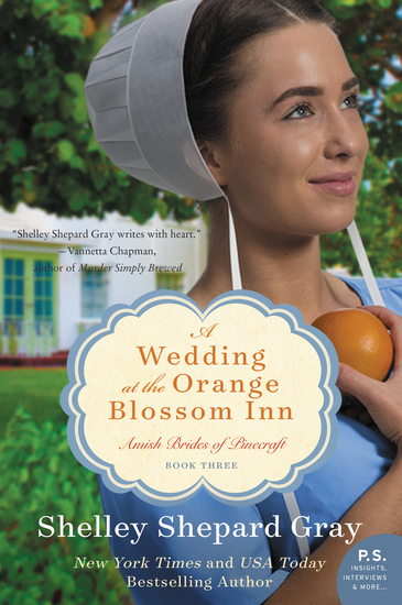A Wedding at the Orange Blossom Inn - Amish Brides of Pinecraft Book Three - cover