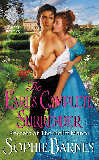 The Earl's Complete Surrender - Secrets at Thorncliff Manor - cover