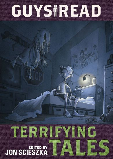 Guys Read: Terrifying Tales - cover