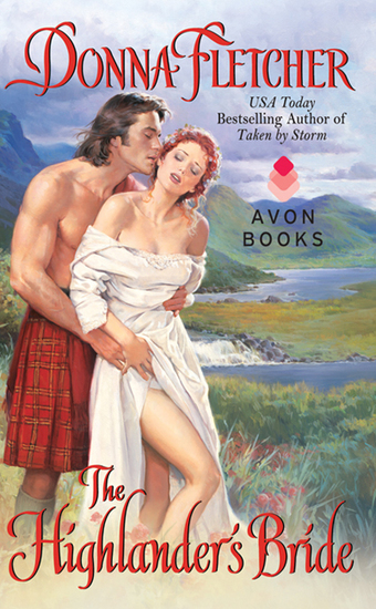 The Highlander's Bride - cover