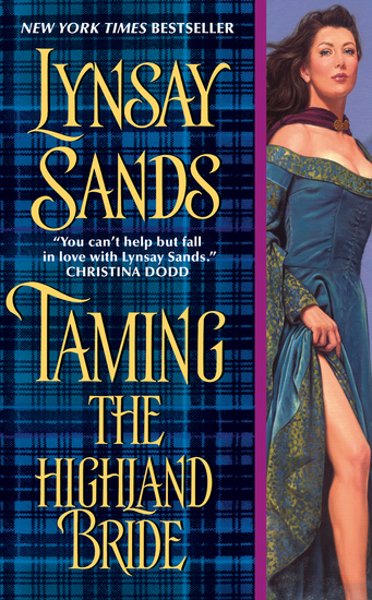 Taming the Highland Bride - cover