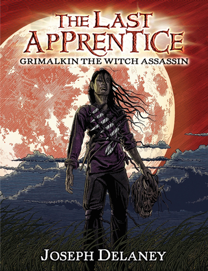 The Last Apprentice: Grimalkin the Witch Assassin (Book 9) - cover