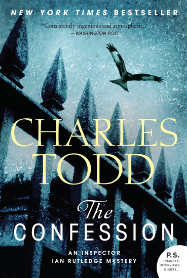 The Confession - An Inspector Ian Rutledge Mystery - cover