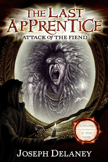 The Last Apprentice: Attack of the Fiend (Book 4) - cover
