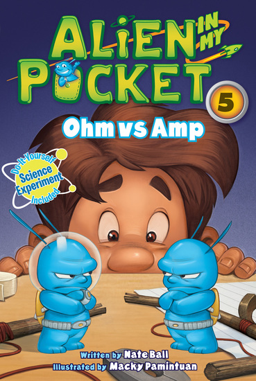 Alien in My Pocket #5: Ohm vs Amp - cover