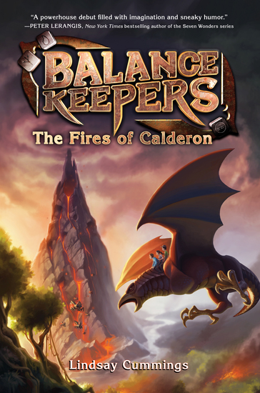 Balance Keepers Book 1: The Fires of Calderon - cover