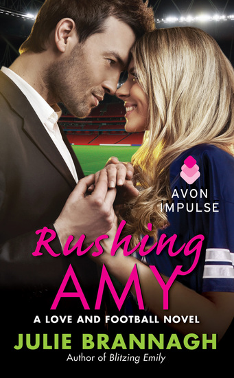Rushing Amy - A Love and Football Novel - cover