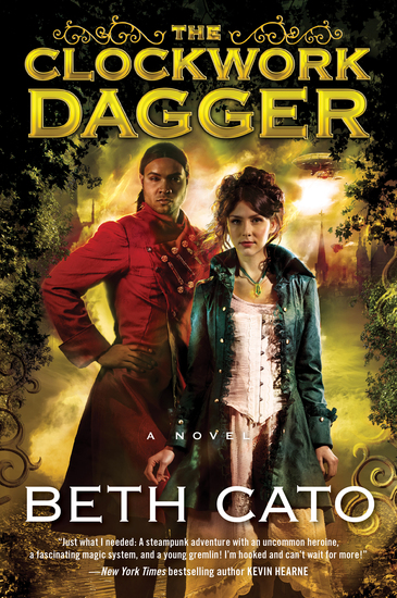 The Clockwork Dagger - A Novel - cover