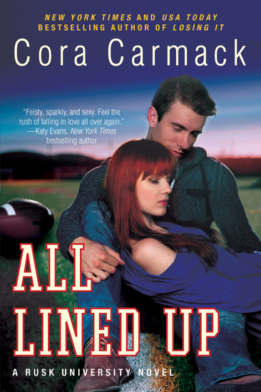 All Lined Up - A Rusk University Novel - cover
