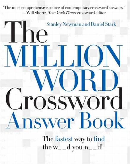 The Million Word Crossword Answer Book - cover