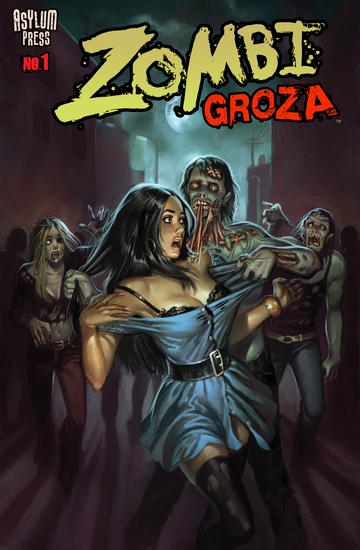 ZOMBI GROZA #1 - Zombie Terrors - cover