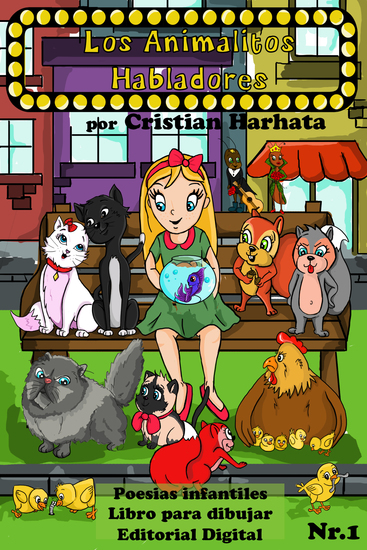 Los Animalitos Habladores Número 1 - cover