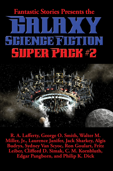 Galaxy Science Fiction Super Pack #2 - With linked Table of Contents - cover
