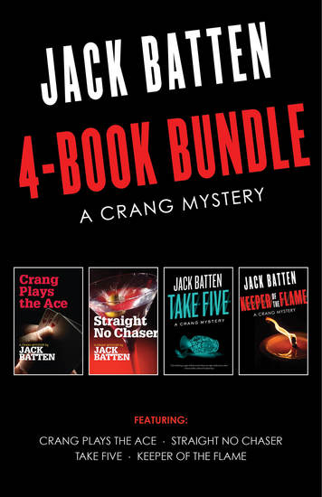 Crang Mysteries 4-Book Bundle - Crang Plays the Ace Straight No Chaser Take Five and 1 more - cover