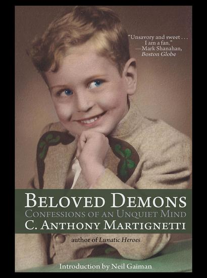 Beloved Demons - Confessions of an Unquiet Mind - cover
