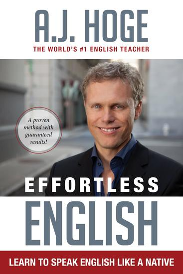 Effortless English: Learn To Speak English Like A Native - cover