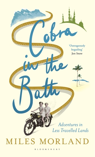 Cobra in the Bath - Adventures in Less Travelled Lands - cover