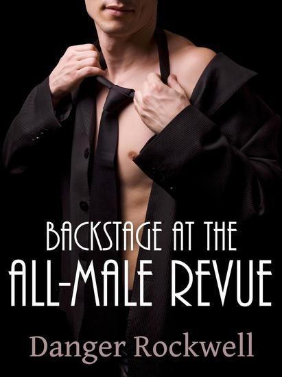 Backstage at the All-Male Revue - cover