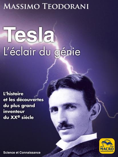 Tesla - L'éclair du génie - cover