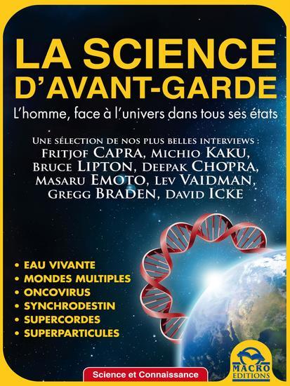 La science d'avant-garde - l'homme face à l'univers dans tous ses états - cover