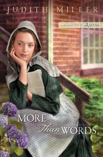 More Than Words (Daughters of Amana Book #2) - cover