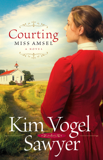 Courting Miss Amsel - cover