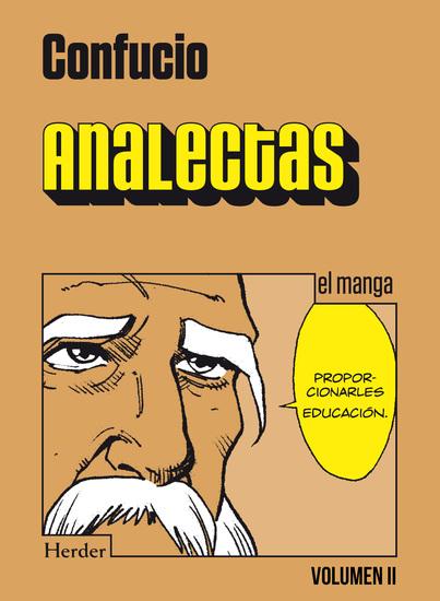 Analectas Vol II - el manga - cover