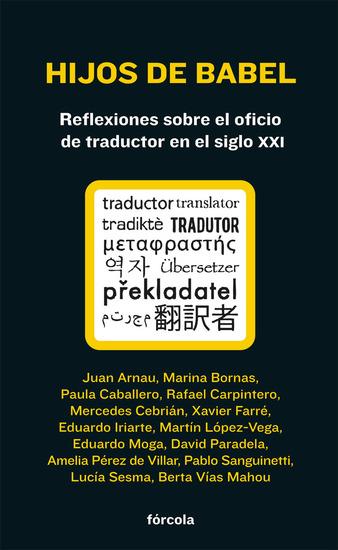 Hijos de Babel - Reflexiones sobre el oficio de traductor - cover