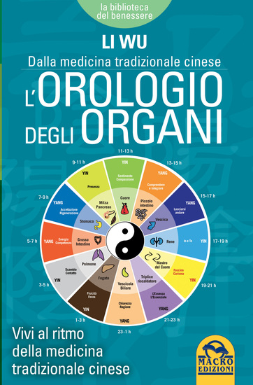 L'Orologio degli Organi - Vivi al ritmo della medicina tradizionale cinese - cover