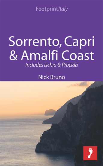 Sorrento Capri & Amalfi Coast Footprint Focus Guide - Includes Ischia & Procida - cover