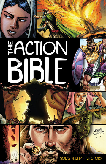 The Action Bible - God's Redemptive Story - cover